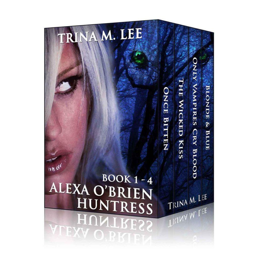Alexa OBrien Huntress Books 1 4 Box Set by Trina M. Lee