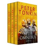Caesar's Spies Crime Thriller Omnibus 1 – 3 by Peter Tonkin 1